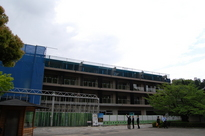 【京都鷹峯】今の鷹峯(2014年 5/1)建設途中のHVC