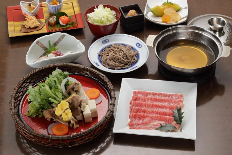 身体温まる季節のお食事『信州牛出汁しゃぶ』