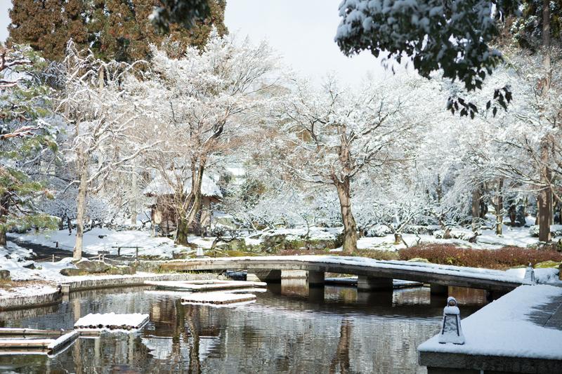 しょうざん北庭園(冬)