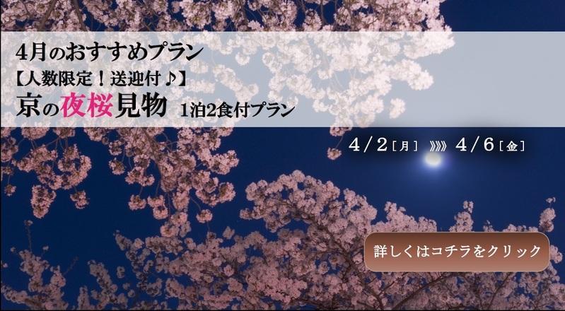 【4月】夜桜見学プラン