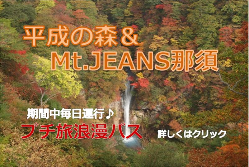 プチ旅浪漫バス 平成の森(秋)