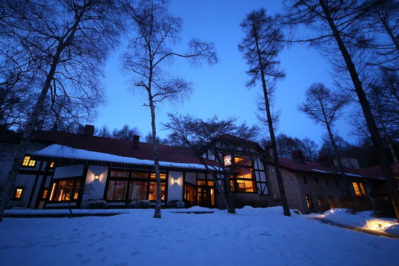 冬の蓼科リゾート