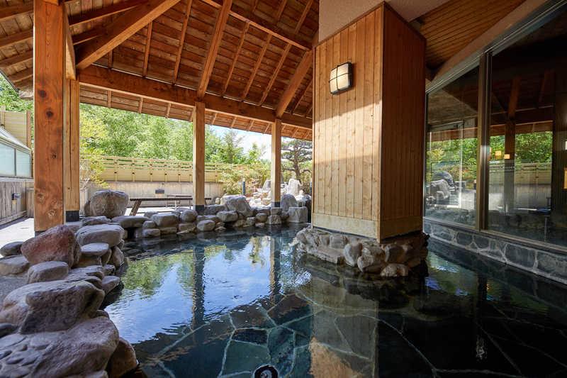 温泉「鹿山の湯」