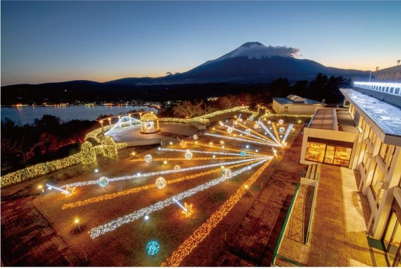 山中湖マウント富士イルミネーション