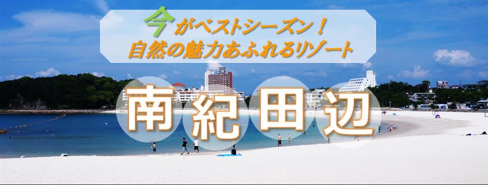 南紀田辺で思いっきり夏を楽しもう!